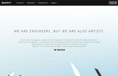 Веб-дизайн и анимация скроллинга