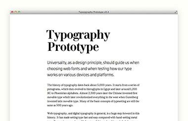 Типографика и веб-дизайн