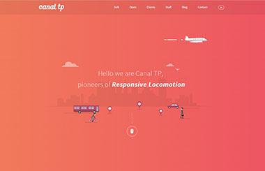 Яркий веб-дизайн